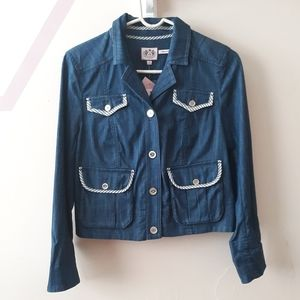 Juicy Couture Cropped Jean Jacket